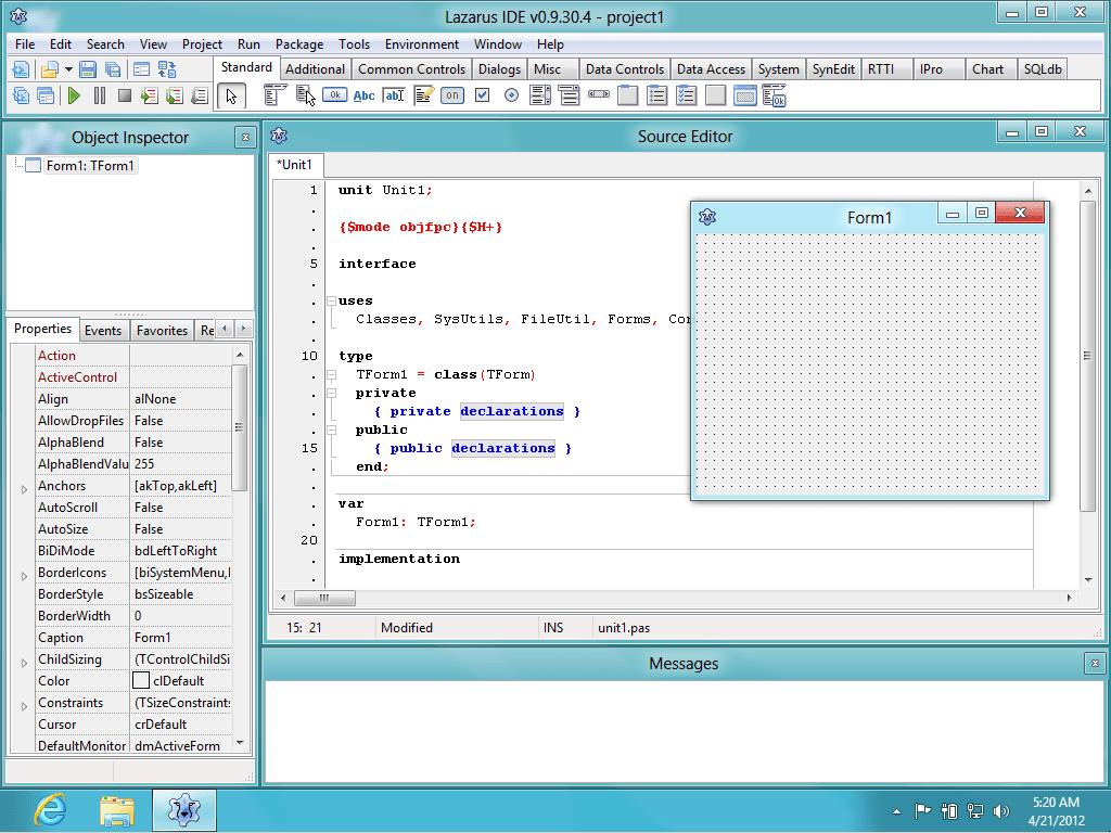 Lazarus програма